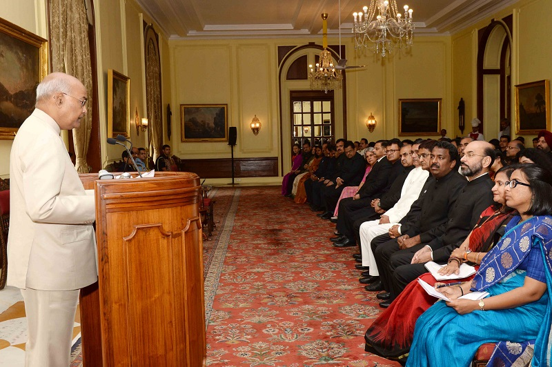 ADDRESS BY THE PRESIDENT OF INDIA, SHRI RAM NATH KOVIND ON THE OCCASION OF CALL
