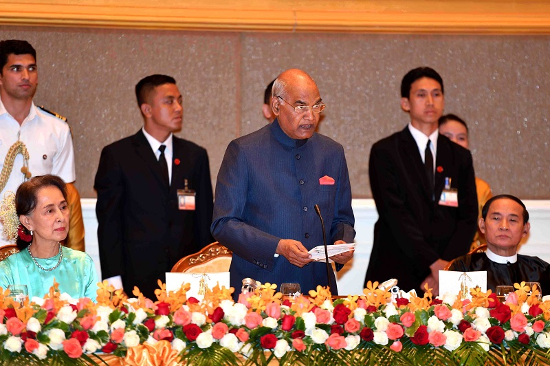ADDRESS BY THE PRESIDENT OF INDIA, SHRI RAM NATH KOVIND AT THE BANQUET HOSTED IN