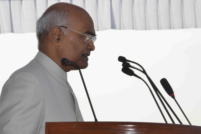 ADDRESS BY THE PRESIDENT OF INDIA, SHRI RAM NATH KOVIND ON THE OCCASION OF PRESE