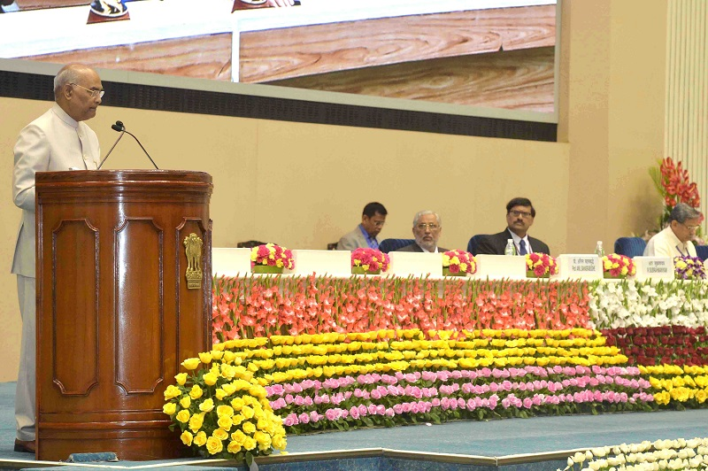 ADDRESS BY THE PRESIDENT OF INDIA, SHRI RAM NATH KOVIND ON THE OCCASION OF RELEA